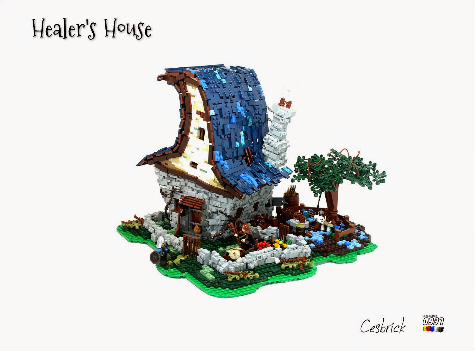 Tiles Or Studs Amazing Medieval Fantasy Buildings From