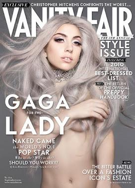 LADY GAGA NAKED VANITY FAIR MAGAZINE COVER