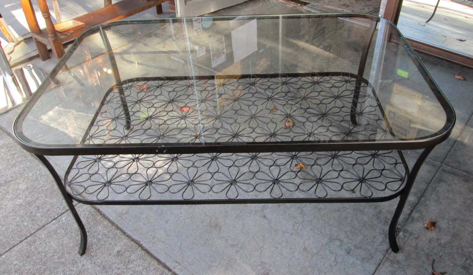 Uhuru Furniture Collectibles Sold Glass Top Ikea Coffee Table 50
