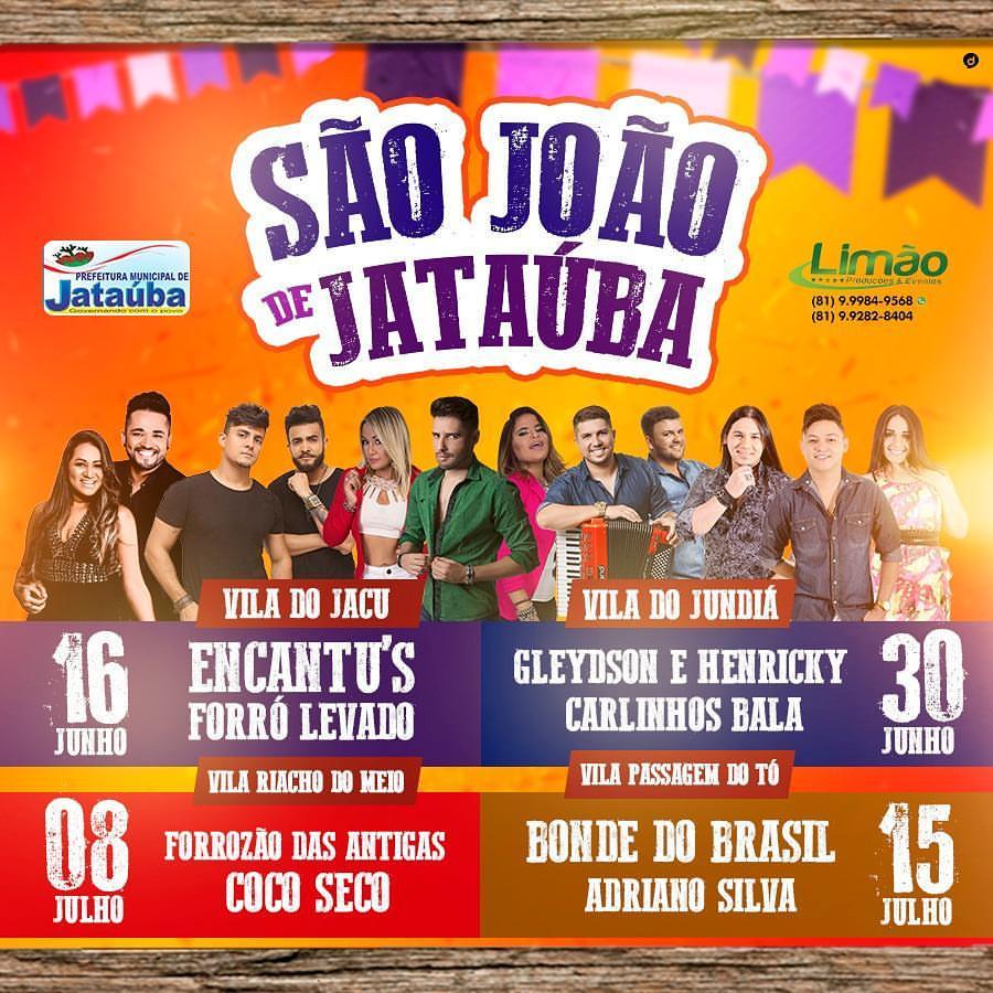 SÃO JOÃO 2017 - JATAÚBA, PERNAMBUCO