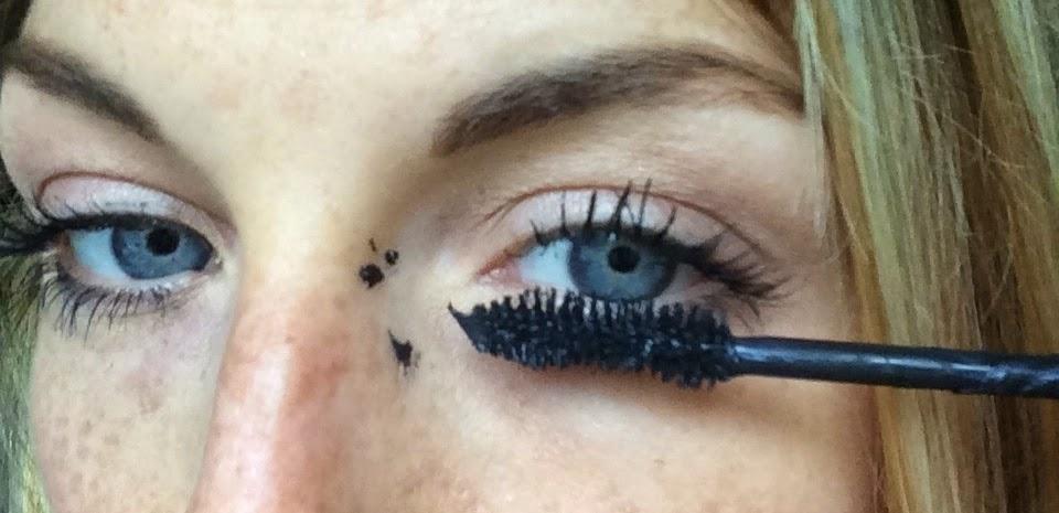 smudged-mascara