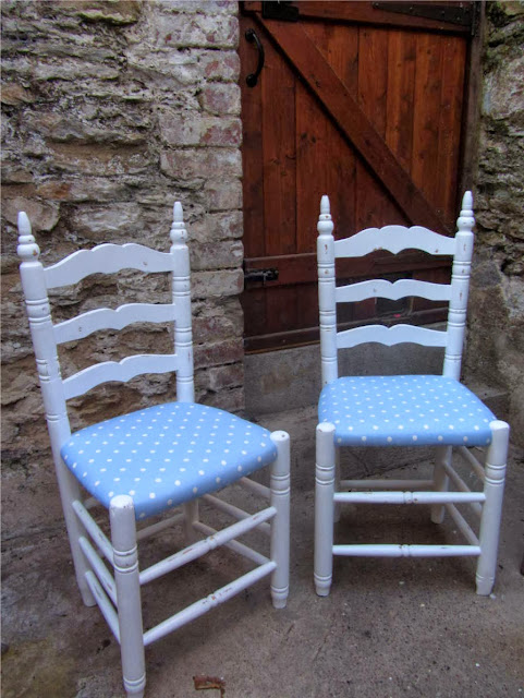 shabby chic chair renovation