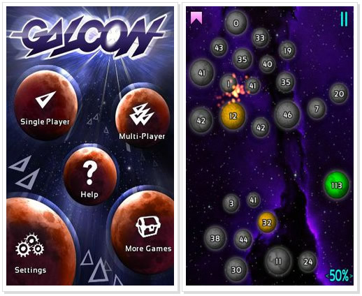 Android Game : Galcon