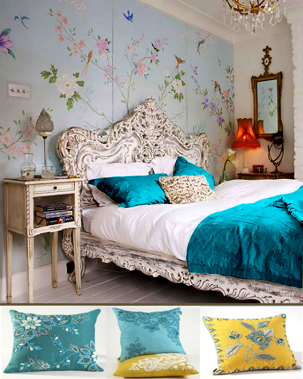 decorating ideas wall paint living rooms turquoise bedroom decors