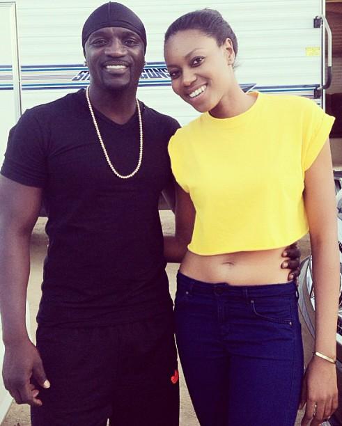 Akon dating