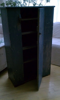 old blue jelly cupboard that I bought & sold in the same day