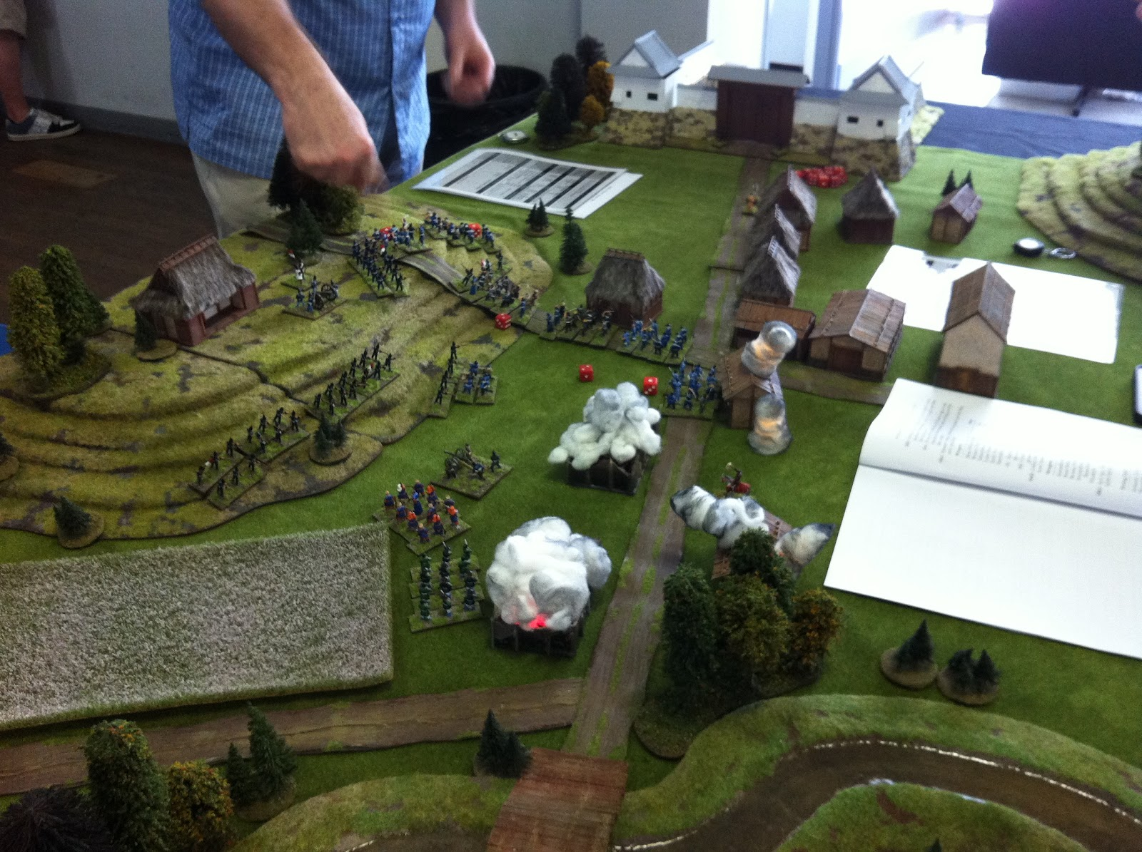 before i show the pics of the game here are some pics of other games run over the 2 day event - Muster Depot