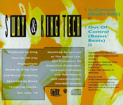 Sway & King Tech – In Control (CDS) (1991) (320 kbps)