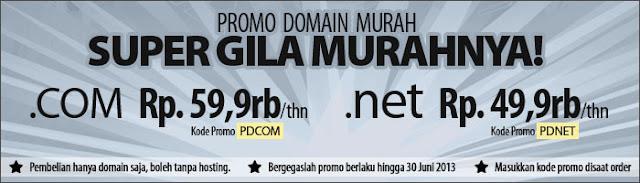 Masih Berlaku, Promo Harga Domain Murah di MWN