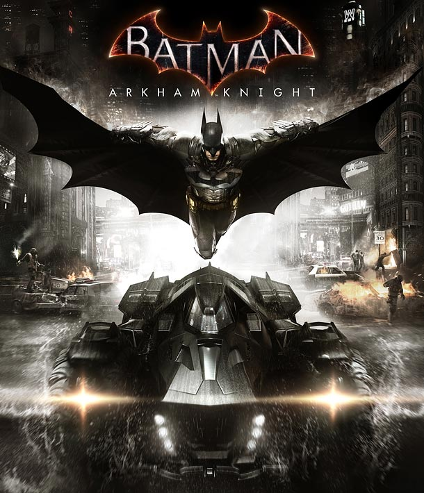 Batman Arkham Knight Cover