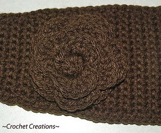 Easy Chain Loops Narrow Headband Free Pattern