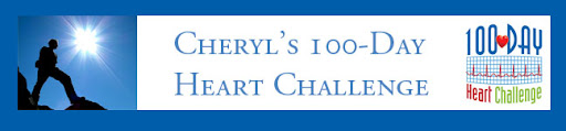 Cheryl's 100-Day Heart Challenge