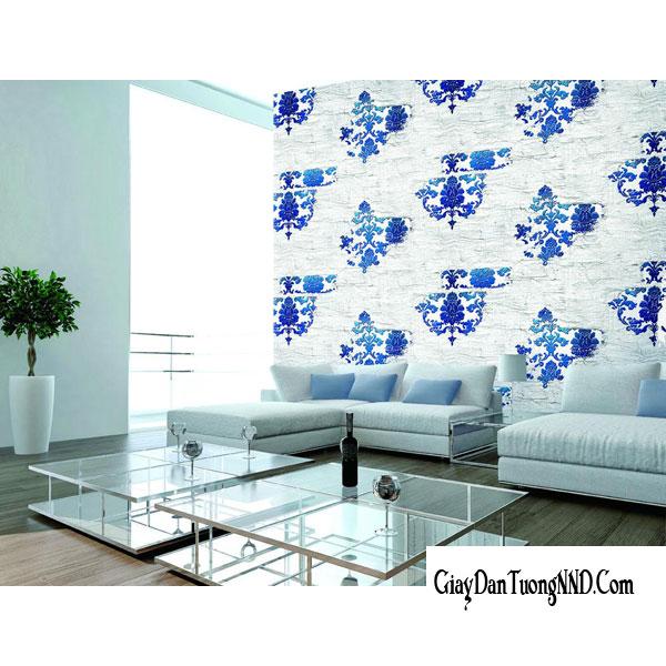 Tại sao nên chọn giấy dán tường để trang trí phòng khách