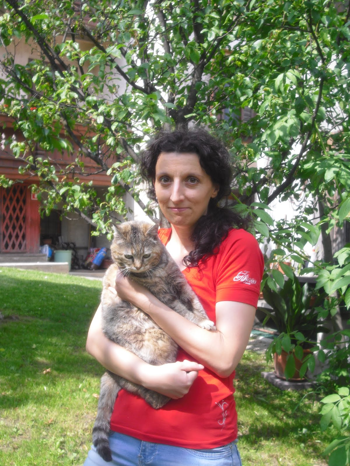 Io e la mia gatta Aughen