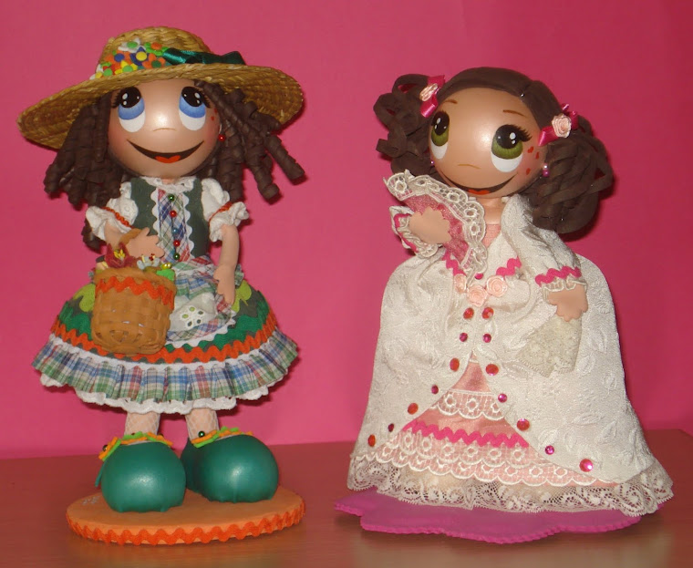 Tirolesa y Menina, muñecas de colección