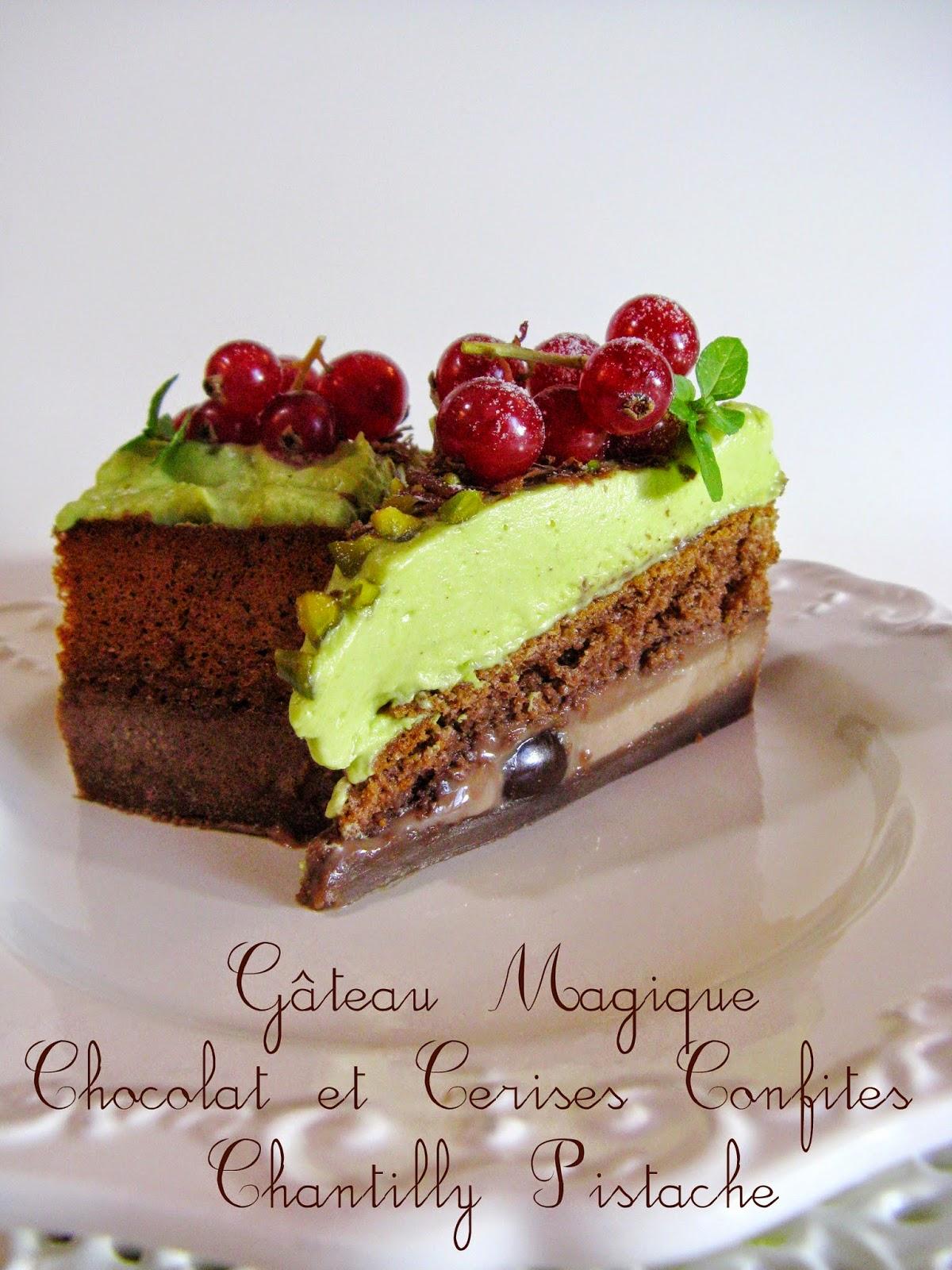 Gateau Surprise Chocolat Pistache Recipes — Dishmaps