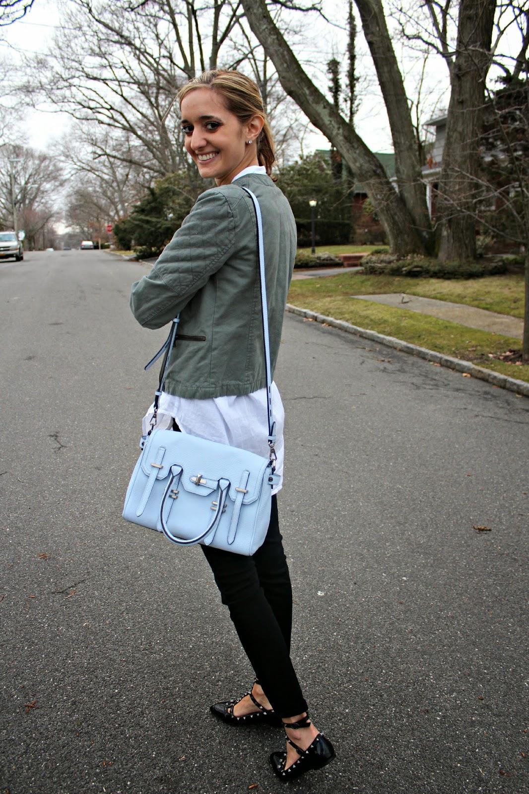 rebecca minkoff blue bag