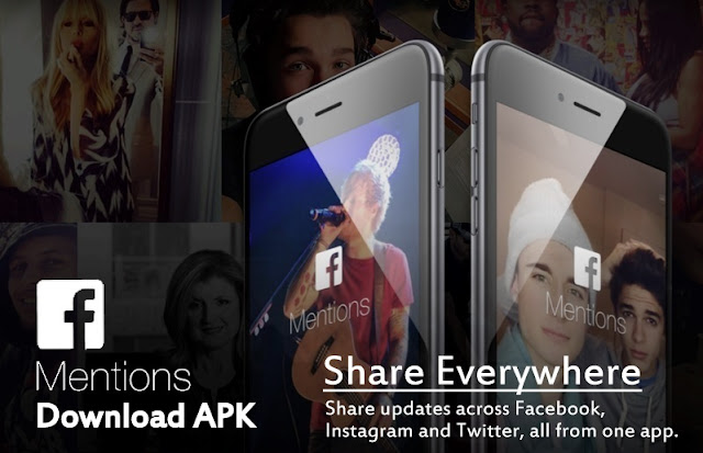 "Facebook Released New ""Facebook Mentions"" Apps Specially Celebrities : Download it From HERE"