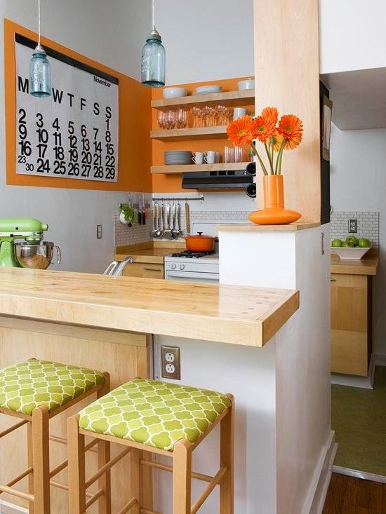 Cozinhas- Soluções para pequenos espaços