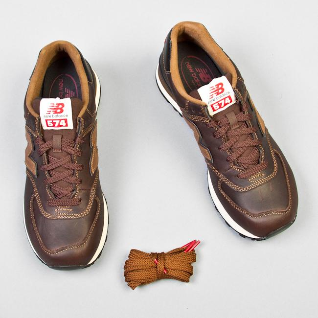 zapatillas new balance de piel