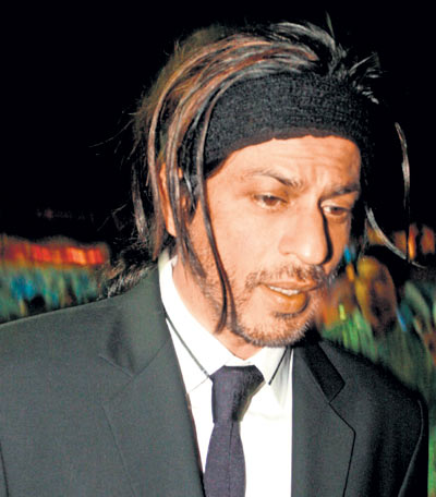 Shahrukh Khan Don 2 Hairstyle shah rukh sports a new hairstyle for don ...