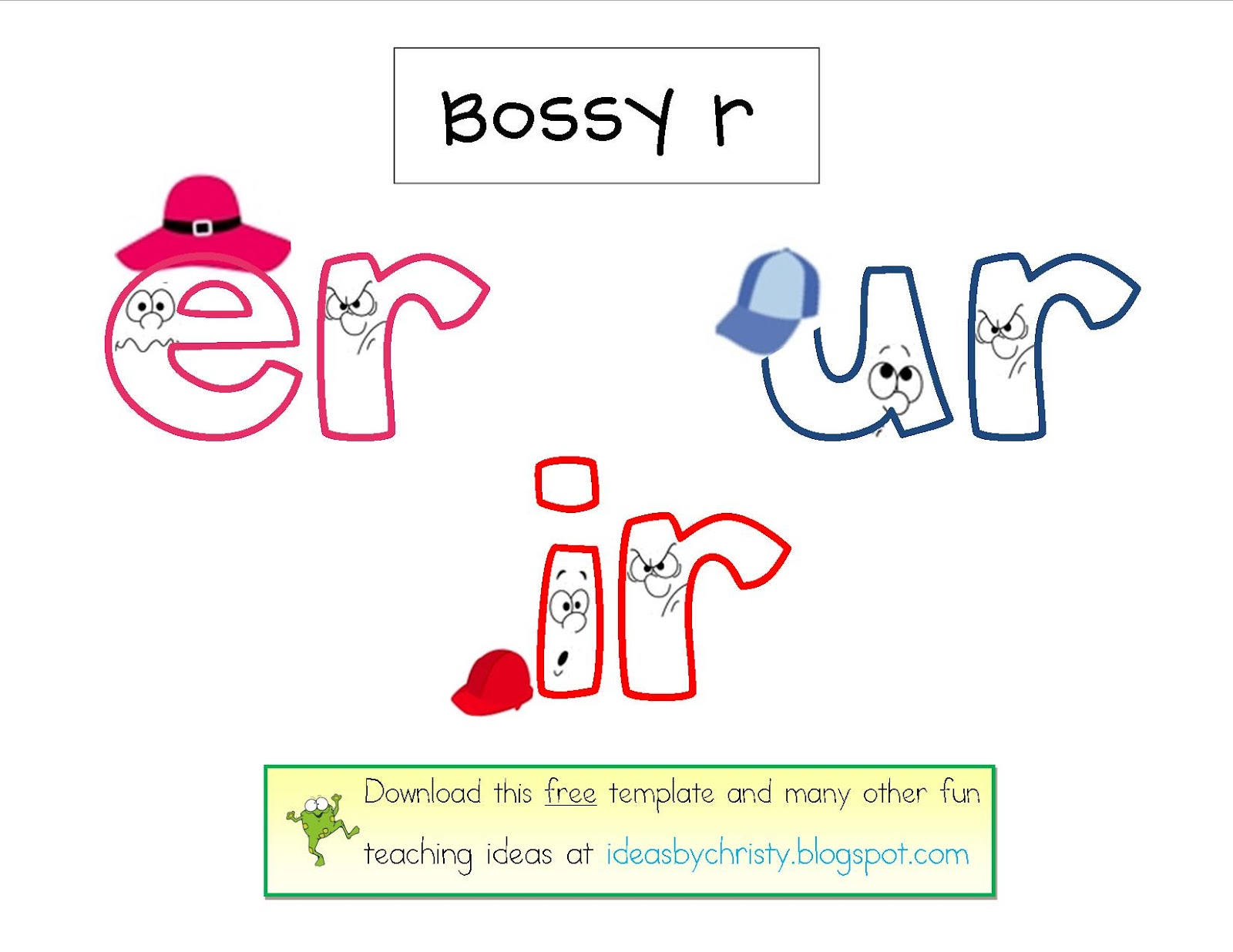 worksheet Bossy R Worksheets phonics sounds lessons tes teach ideas by christy bossy r pairs er ir ur