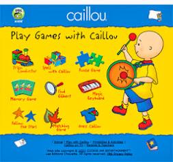 Juega con Caillou