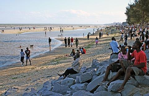 Beach in Maputo