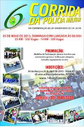 6ª CORRIDA DA PM - DIA 05/05/2013