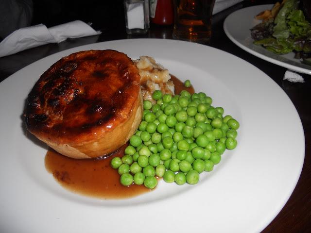 English pie in London
