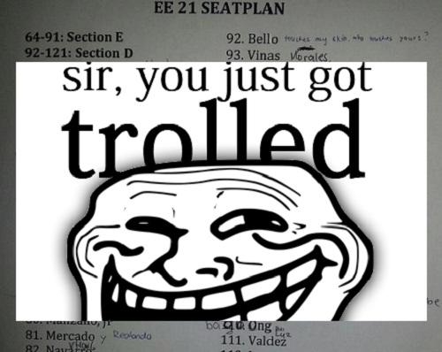 EE21 seatplan got trolled