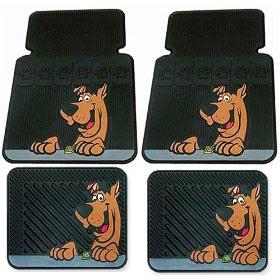 Tapete de carro de desenho colorido Scooby-doo