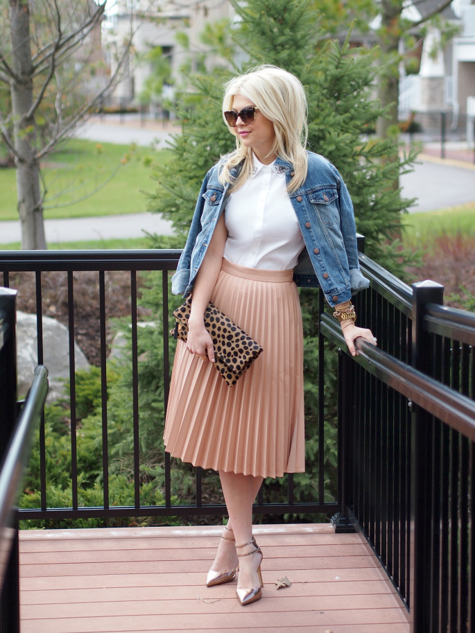 Suburban Faux Pas: Accordion Skirt
