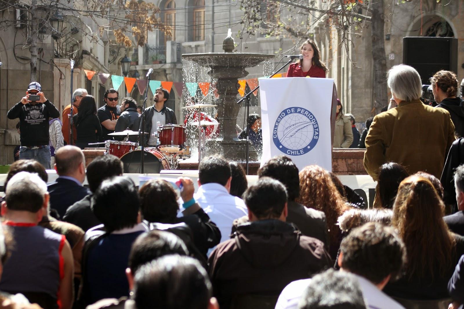 Presidenta del Colegio de Periodistas plantea nuevo marco institucional para las comunicaciones