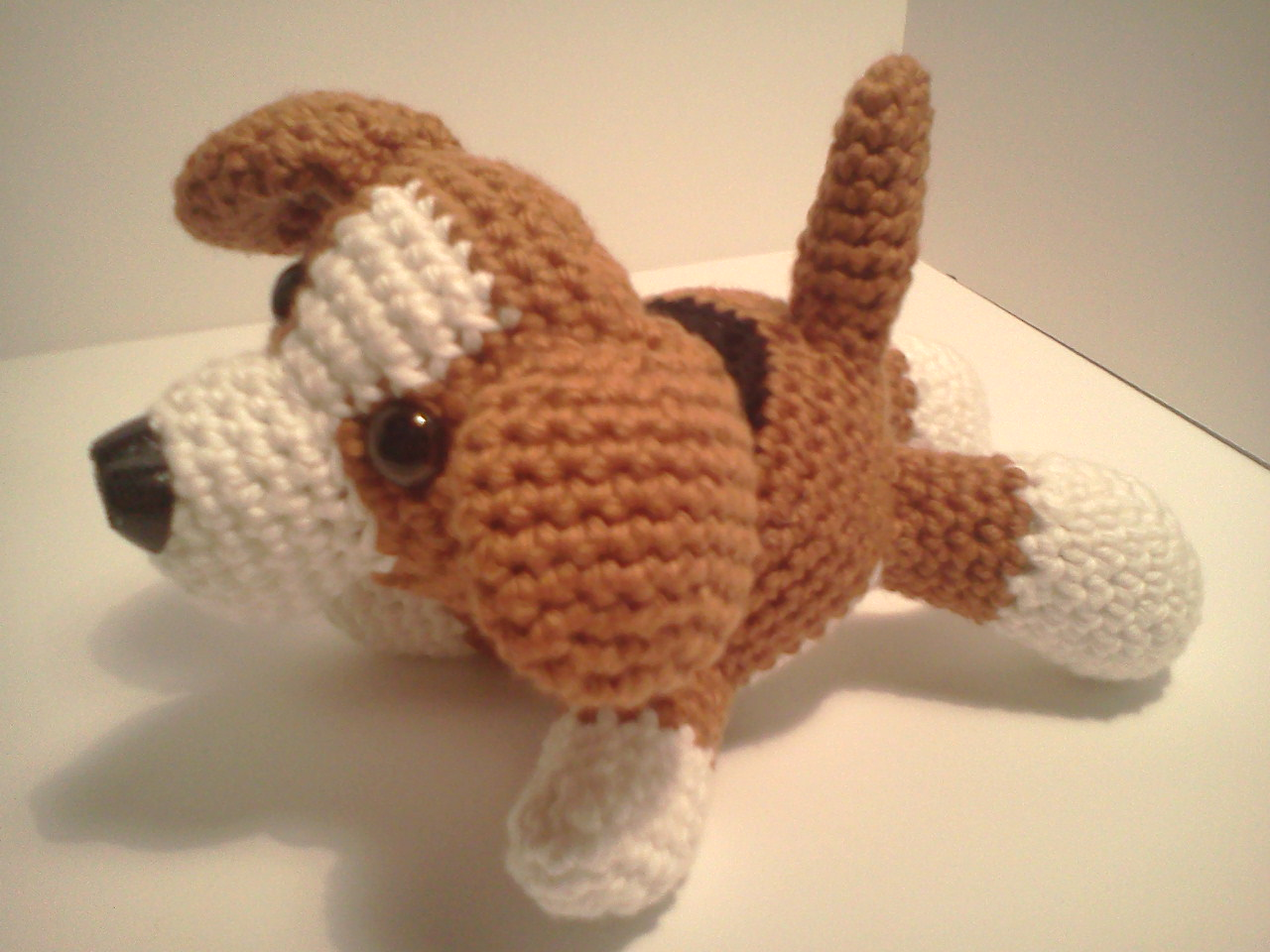Amigurumi Puppy Crochet Pattern : Serendipity Creative: Lily Baby Beagle AmiPal Amigurumi ...