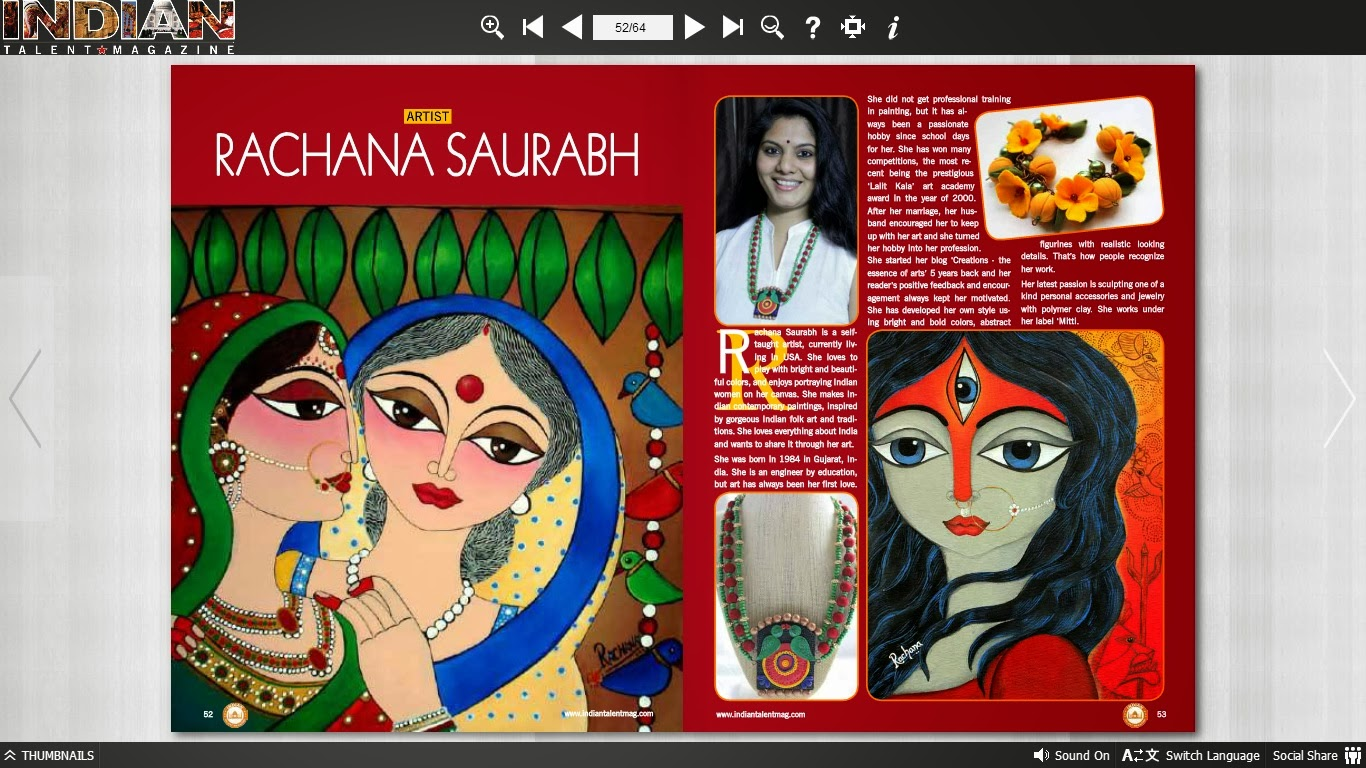 Feature, rachana, indian art, indian woman, folk art, goddess, durga