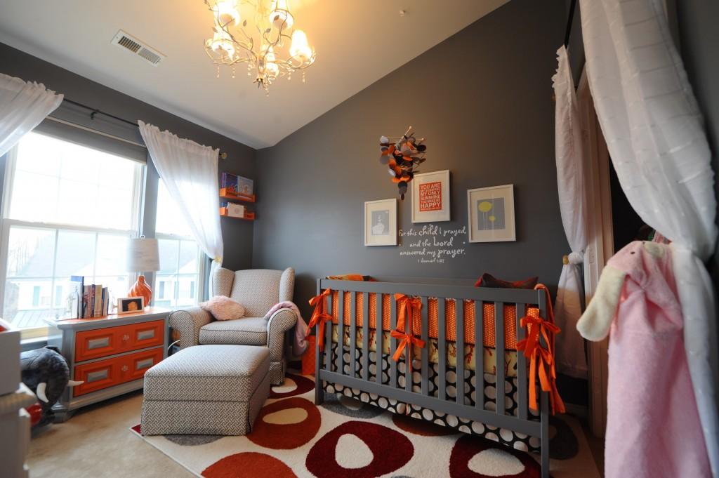 Awesome Chambre Garcon Orange Et Gris Images - Sledbralorne.com ...