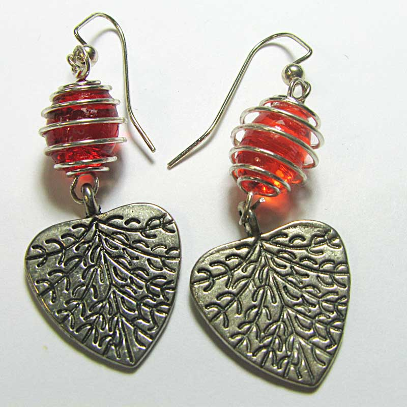Designer Drug jewelry by Susan Braig - ducolax stool softener earrings