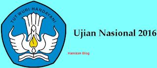 Jadwal Ujian Nasional UNAS SMP SMA 2016