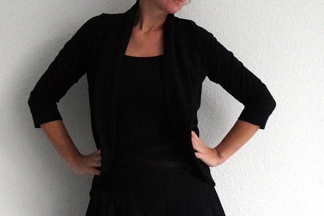 Julia Cardigan (Mouse House Creations, available at Go To Patterns) sewn by huisje boompje boefjes