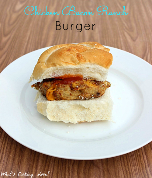 how to make healthy chicken burger