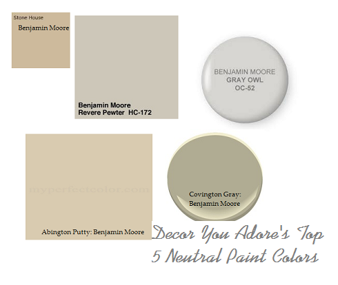 Top Neutral Paint Colors Top Neutral Paint Colors
