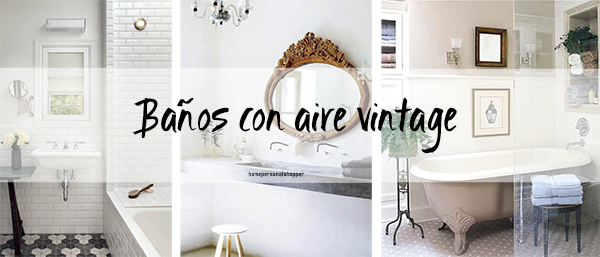 Baños Estilo Frances:HomePersonalShopper Blog decoración e ideas fáciles para tu casa