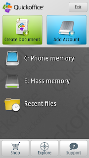 quickoffice pro symbian^3