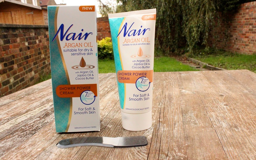 Nair Argan Oil Shower Power Cream review