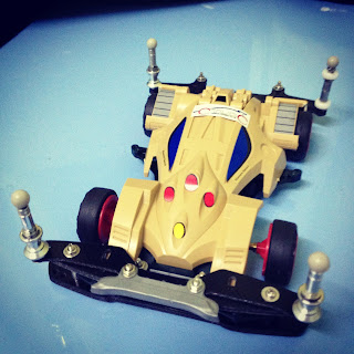 TAMIYA Mini 4WD Motor RPM Check