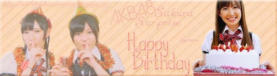 AKB48 Sakura Surprise!