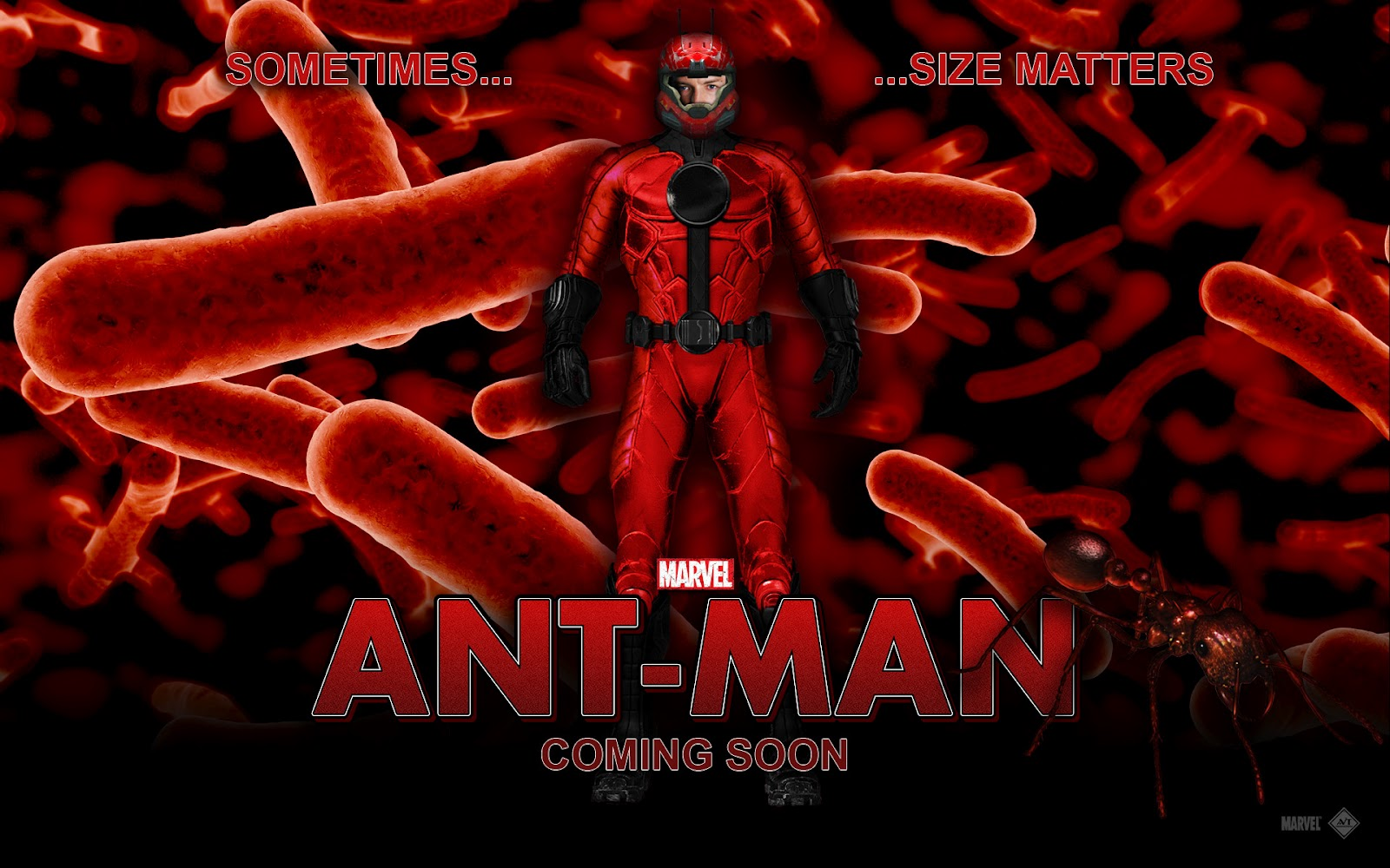 Powerpoint backgrounds of the marvel superhero ant man everything about powerpoint wallpapers toneelgroepblik Image collections