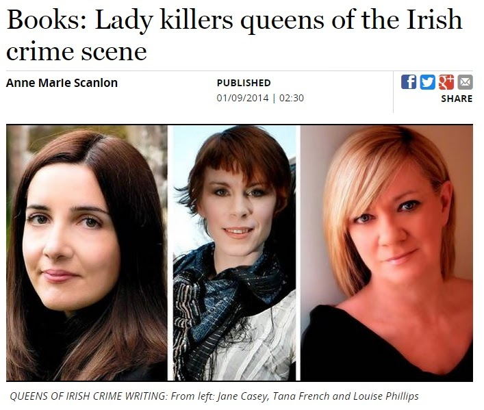 Sunday Independent - Queens of the Irish Crime Scene