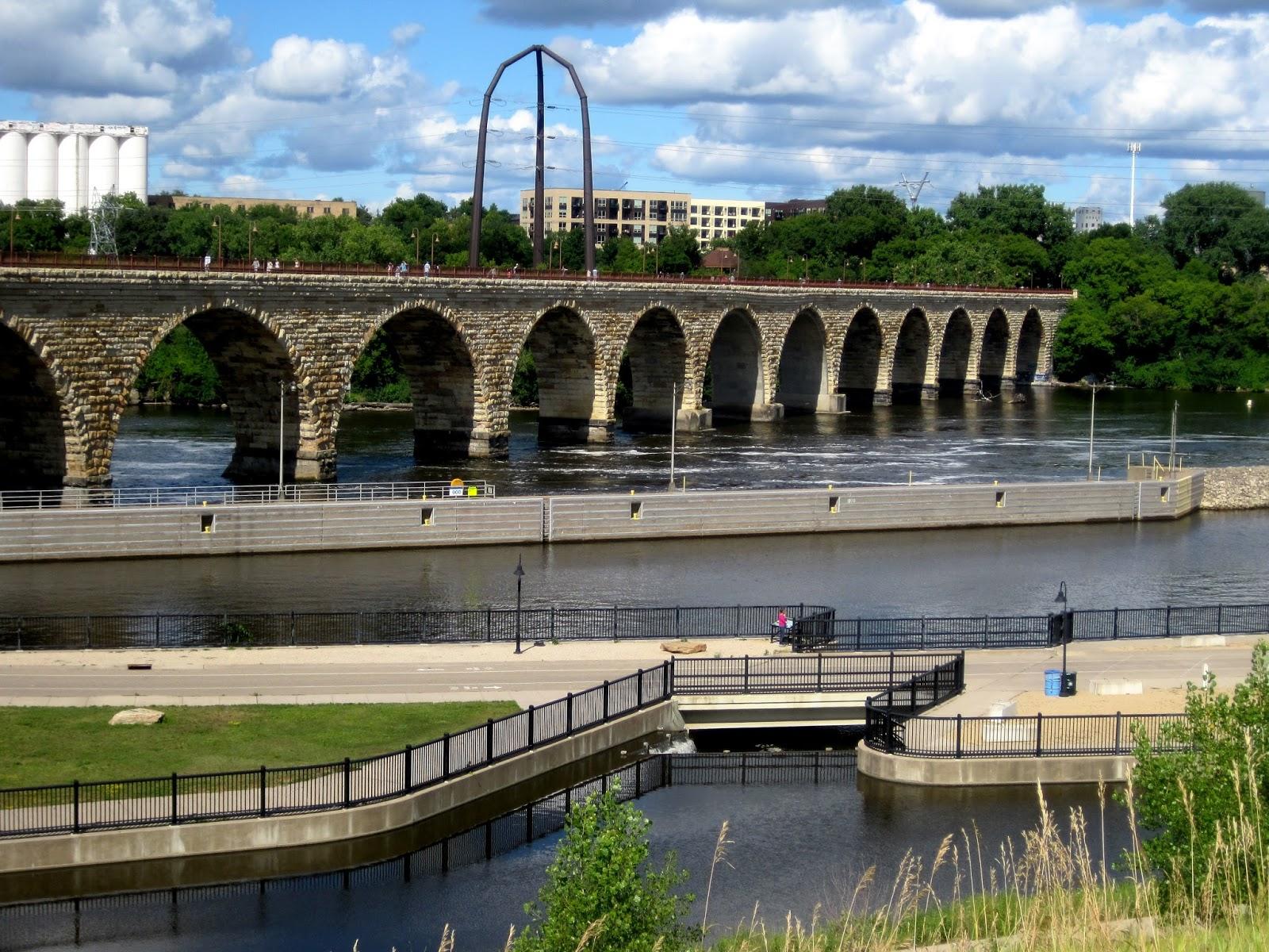 Stone Arch Bridge Design frayed edge: a ...